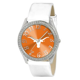 Game Time NCAA Texas Longhorns Women's Glitz Patent Leather Watch