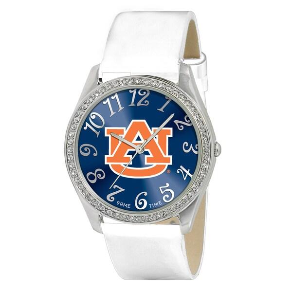Game Time NCAA Auburn Tigers Women's Glitz Patent Leather Watch