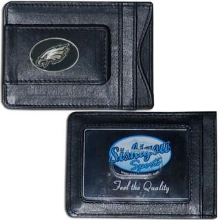 Philadelphia Eagles Leather Money Clip and Cardholder