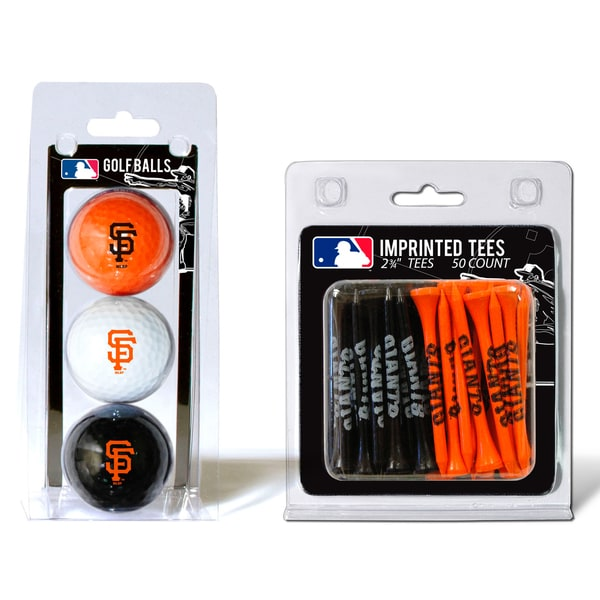 MLB San Francisco Giants Golf Ball and Tee Set