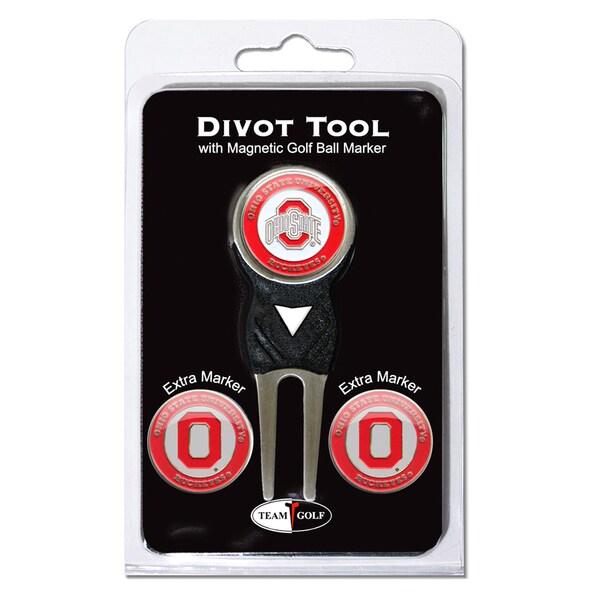 NCAA Ohio State Buckeyes Golf Divot Tool Pack