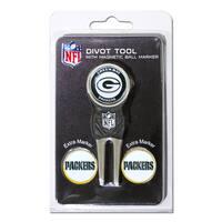 NFL Green Bay Packers Golf Divot Tool Pack