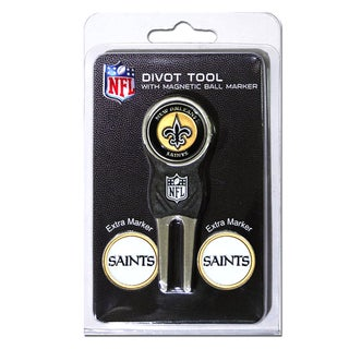 NFL New Orleans Saints Golf Divot Tool Pack