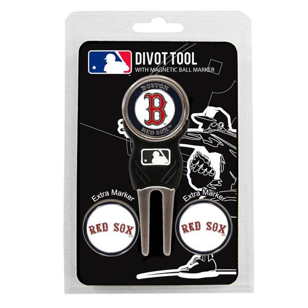 MLB Boston Red Sox Golf Divot Tool Pack