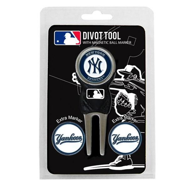 MLB New York Yankees Golf Divot Tool Pack