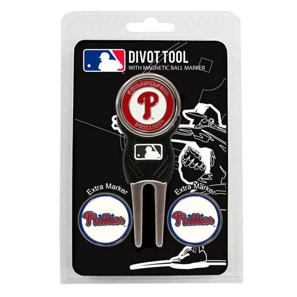 MLB Philadelphia Phillies Golf Divot Tool Pack