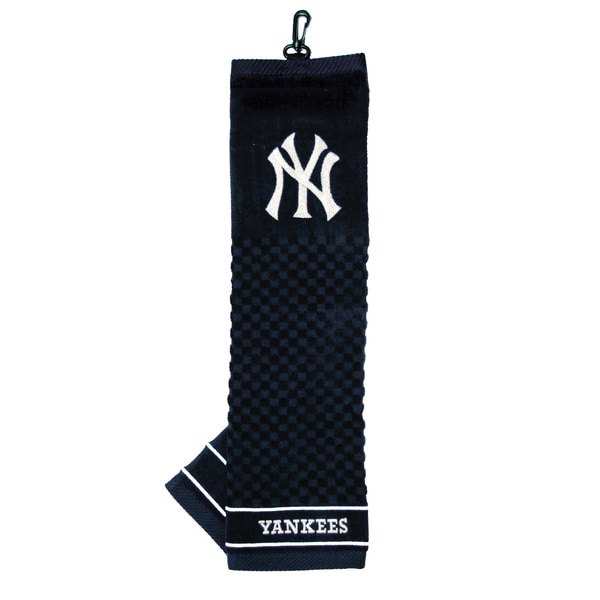 040417710e0c60 Shop MLB New York Yankees Embroidered Golf Towel - Free Shipping On Orders  Over $45 - Overstock - 8554560