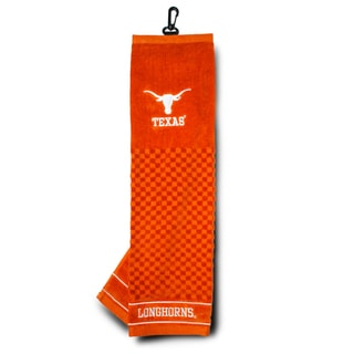 NCAA Texas Longhorns Embroidered Golf Towel