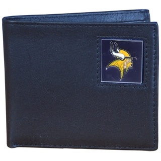 NFL Minnesota Vikings Leather Bi-fold Wallet