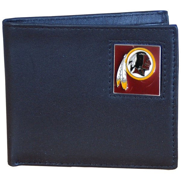 NFL Washington Redskins Leather Bi-fold Wallet