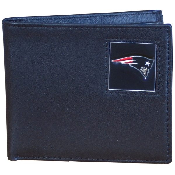 NFL New England Patriots Leather Bi-fold Wallet