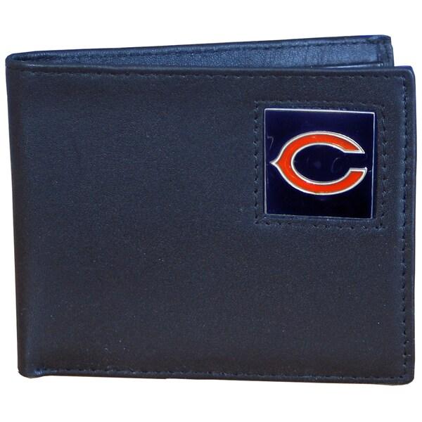 NFL Chicago Bears Leather Bi-fold Wallet