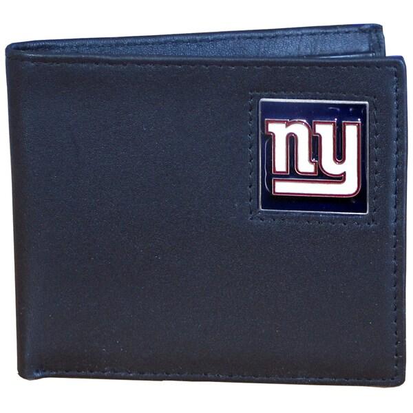 NFL New York Giants Leather Bi-fold Wallet