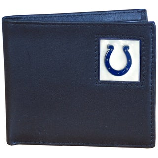 NFL Indianapolis Colts Leather Bi-fold Wallet
