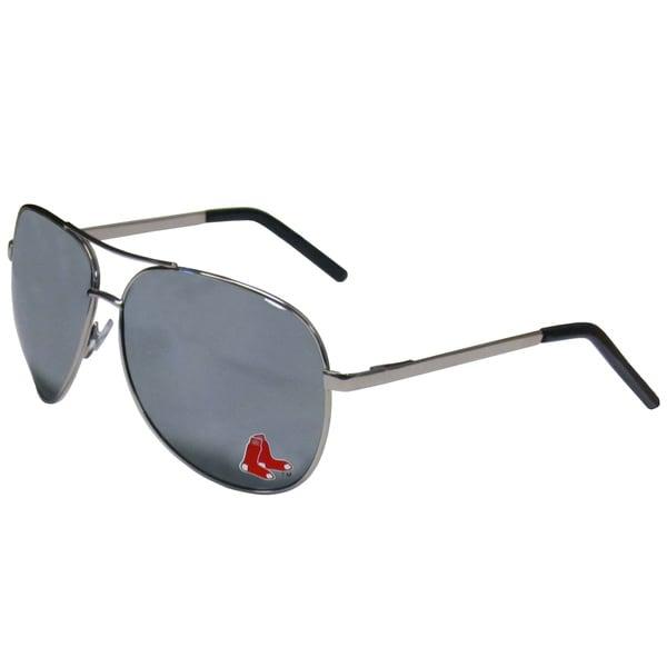 MLB Boston Red Sox Aviator Sunglasses