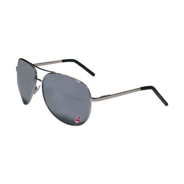 MLB Clevland Indians Aviator Sunglasses
