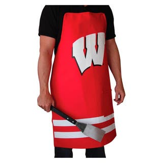 NCAA Wisconsin Badgers Heavyweight Jersey Apron|https://ak1.ostkcdn.com/images/products/8554608/NCAA-Wisconsin-Badgers-Heavyweight-Jersey-Apron-P15832209.jpg?impolicy=medium
