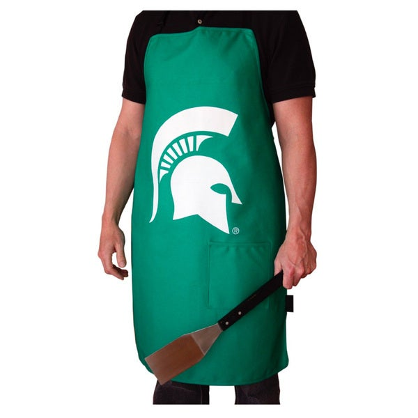 NCAA Michigan State Spartans Heavyweight Jersey Apron
