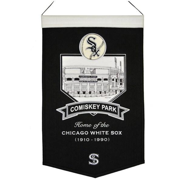 MLB Chicago White Sox Comisky Park Wool Stadium Banner