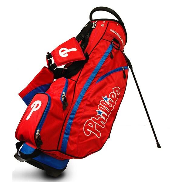 MLB Philadelphia Phillies Fairway Stand Golf Bag