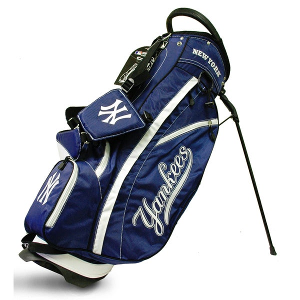bc49d4370f2ede Shop MLB New York Yankees Fairway Stand Golf Bag - Free Shipping ...
