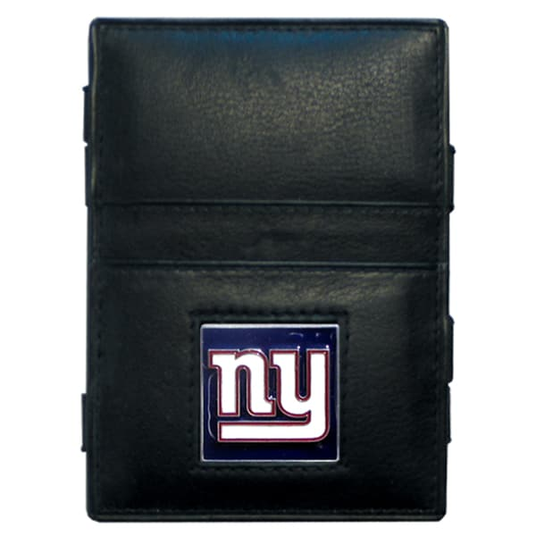 NFL New York Giants Leather Jacob's Ladder Wallet