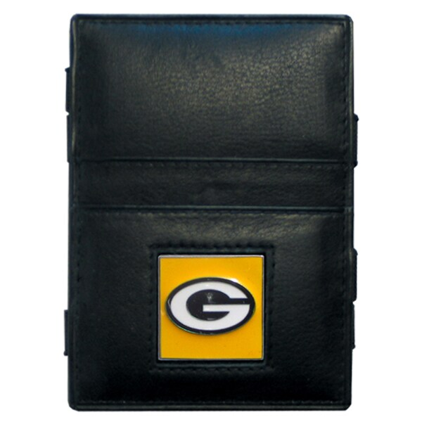 NFL Green Bay Packers Leather Jacob's Ladder Wallet