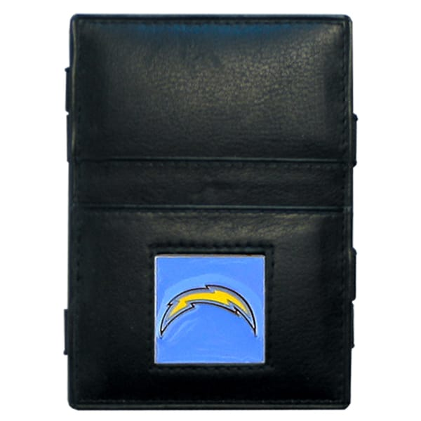 NFL San Diego Chargers Leather Jacob's Ladder Wallet