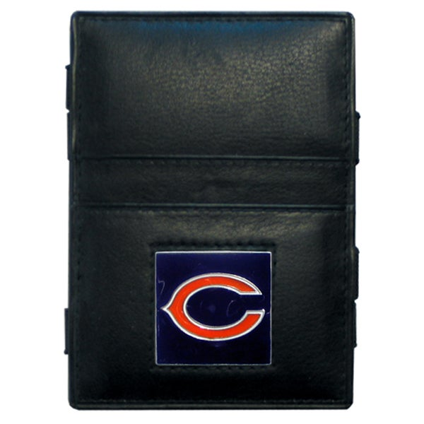 NFL Chicago Bears Leather Jacob's Ladder Wallet