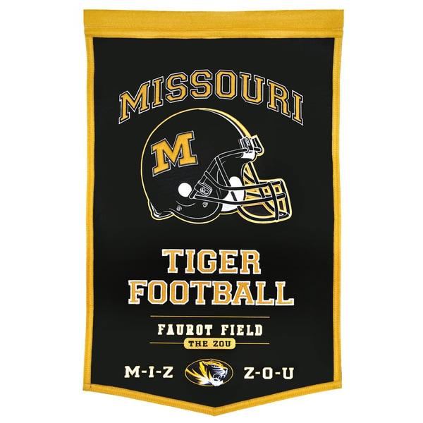 NCAA Missouri Tigers Wool Powerhouse Banner