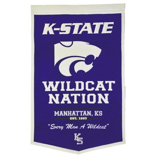 NCAA Kansas State Wildcats Wool Powerhouse Banner