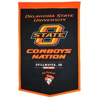 NCAA Oklahoma State Cowboys Wool Powerhouse Banner