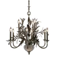 Uttermost Cristel De Lisbon 9-light Golden Bronze Chandelier