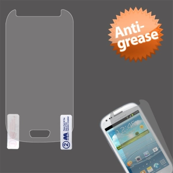 INSTEN Anti-grease LCD Screen Protector for Samsung Galaxy S3 Mini