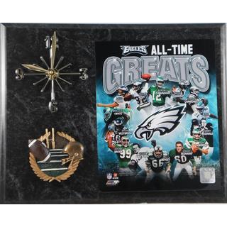 Philadelphia Eagles 'All Time Greats' Clock