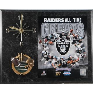 Oakland Raiders 'All Time Greats' Clock