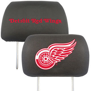 Fanmats NHL Red Wings Headrest Cover
