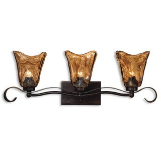 Uttermost Vetraio 3-light Oil Rubbed Bronze Vanity Strip