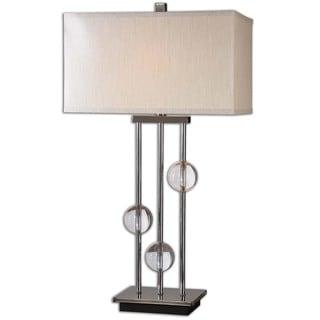 Uttermost Rodeshia 1-light Black Chrome Table Lamp