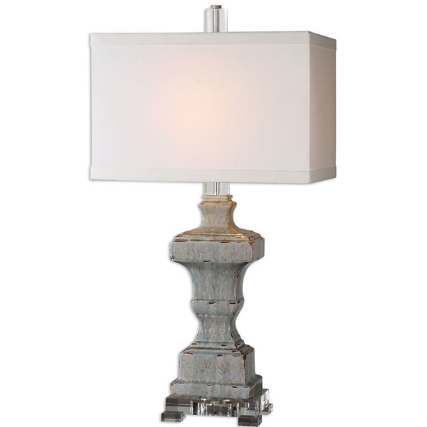 Uttermost San Marcello 1-light Blue Table Lamp
