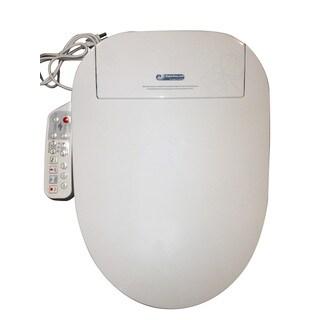 Bidet4me Electric Bidet White Electronic Seat with Dryer (E-300A)