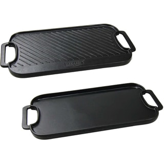 Man Law Cast Iron Reversible Griddle