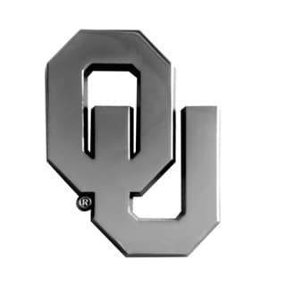 Fanmats NCAA Oklahoma Chromed Metal Emblem