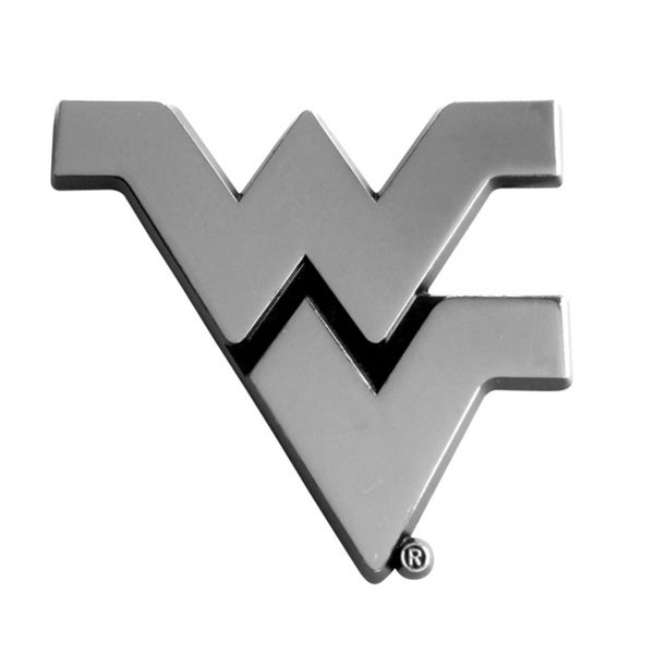 Fanmats NCAA West Virginia Chromed Metal Emblem