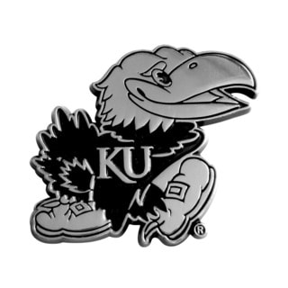 Kansas Chromed Metal Emblem