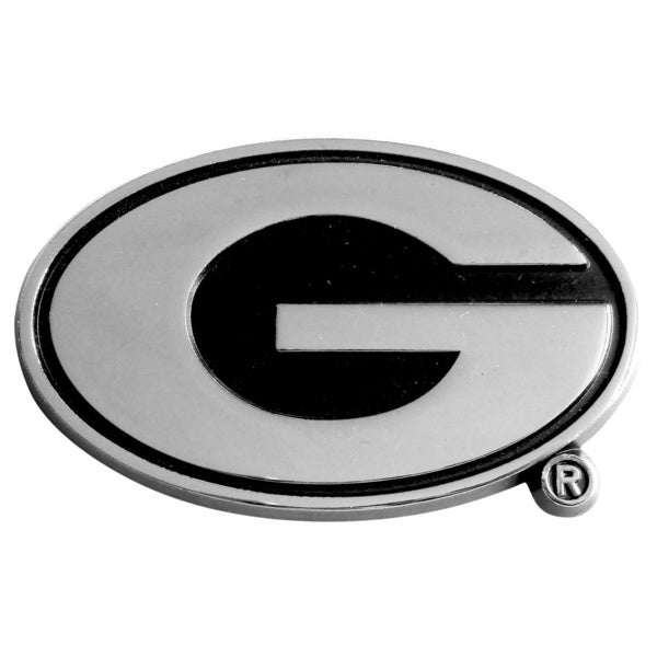 Fanmats Georgia Bulldogs Chromed Metal Emblem