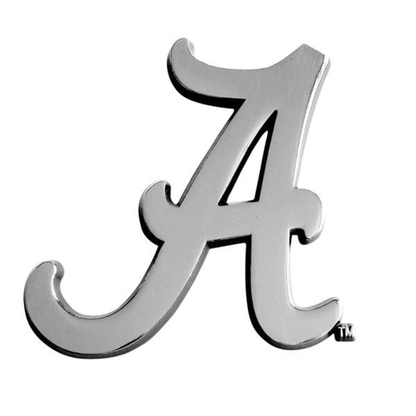 Alabama Chromed Metal Emblem