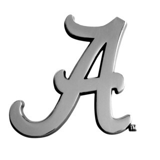 Alabama Chromed Metal Emblem
