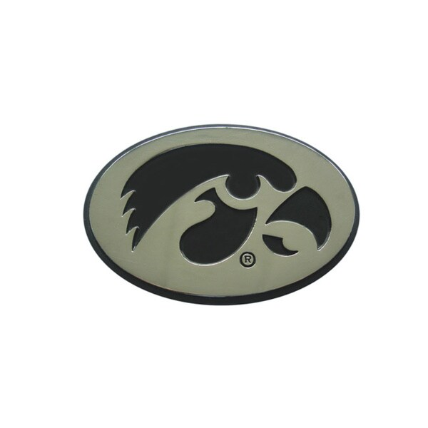 Fanmats Iowa Chromed Metal Emblem