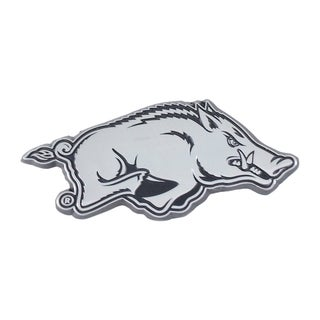 Arkansas Chromed Metal Emblem